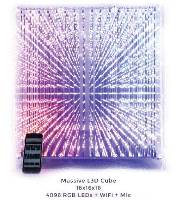 3D LED Würfel Bausatz